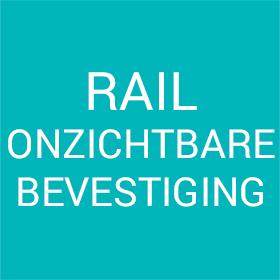 Rail onzichtbare bevestiging