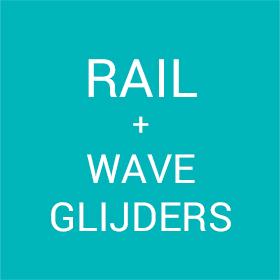 Rail + Wave glijders